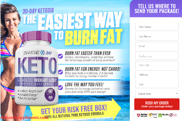 Diamond Keto 247 Weight Loss Pills