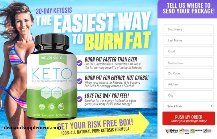 Nature Clarity Keto Weight Loss Supplement