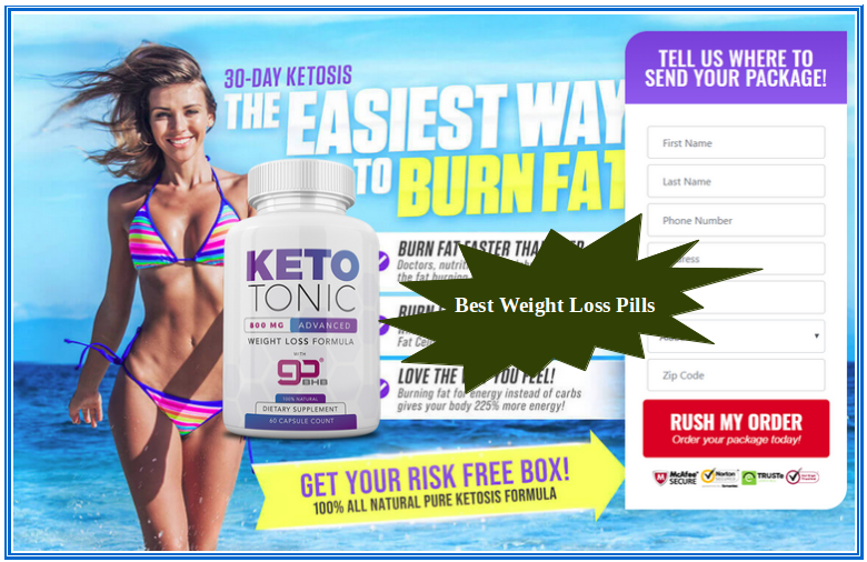 Keto Tonic Diet Pills Benefits